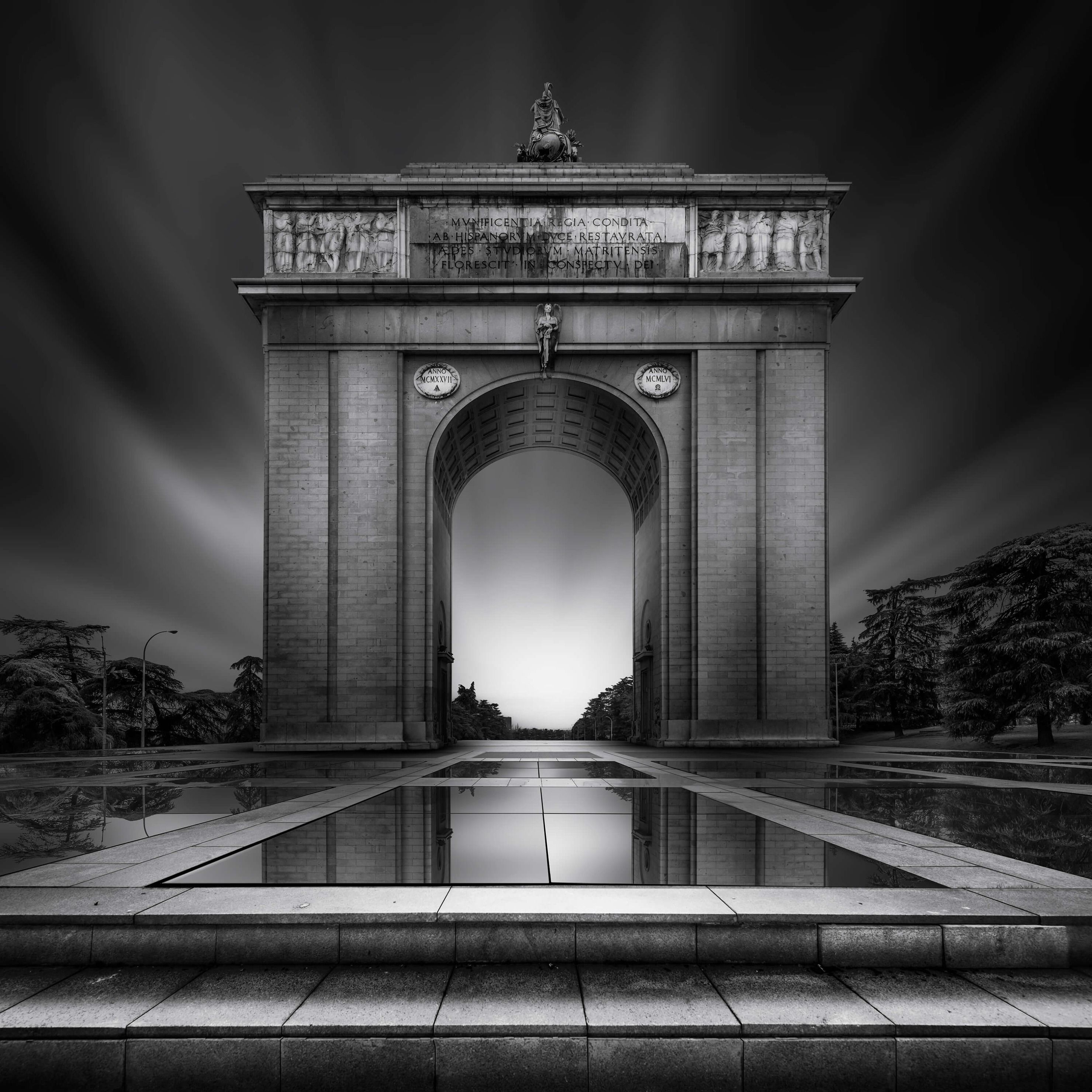 Architecture Arch of Moncloa