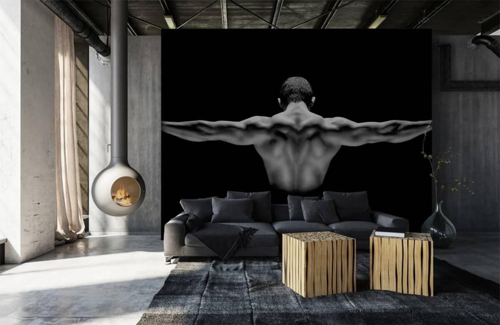 Fitness - Homme aux bras tendus - Garage 1