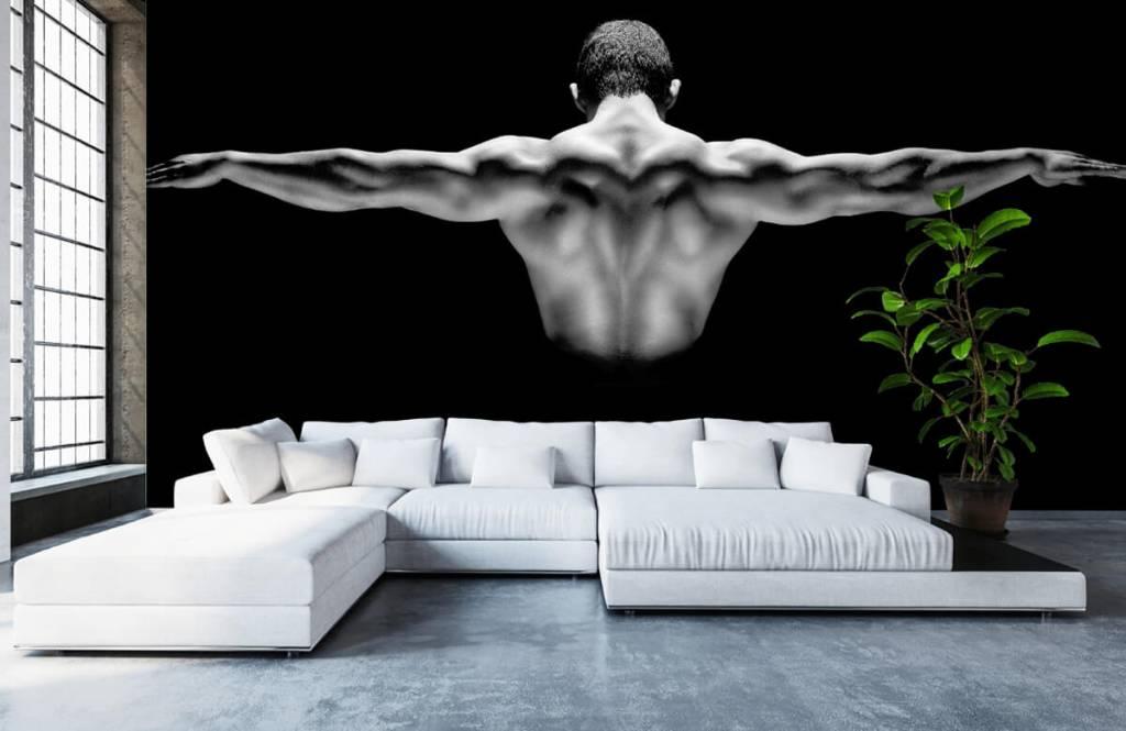 Fitness - Homme aux bras tendus - Garage 4