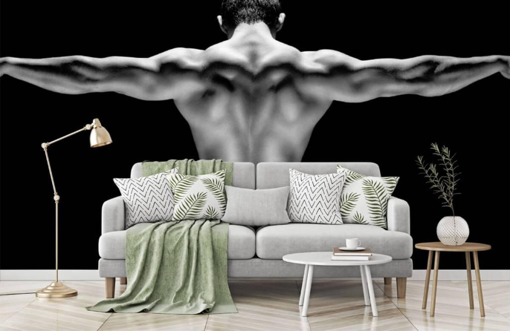 Fitness - Homme aux bras tendus - Garage 5
