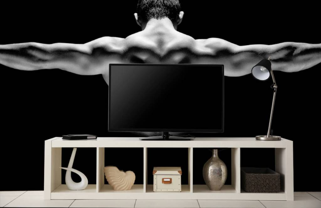 Fitness - Homme aux bras tendus - Garage 7