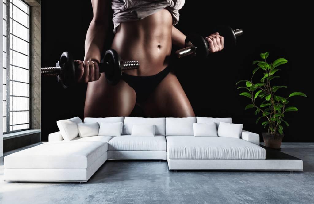 Sport et Fitness - Femme musclée - Garage 3