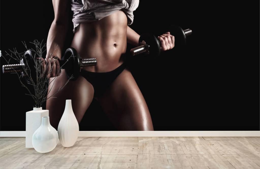 Sport et Fitness - Femme musclée - Garage 7