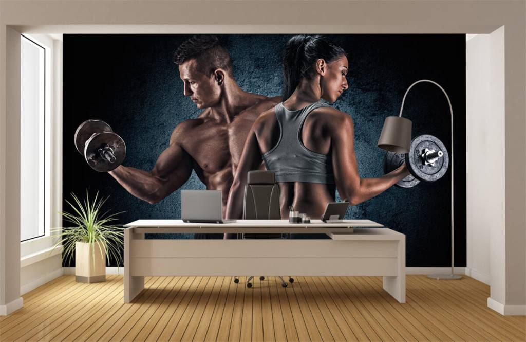 Fitness - Couple athlétique - Chambre d'hobby 4