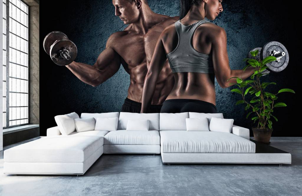 Fitness - Couple athlétique - Chambre d'hobby 6