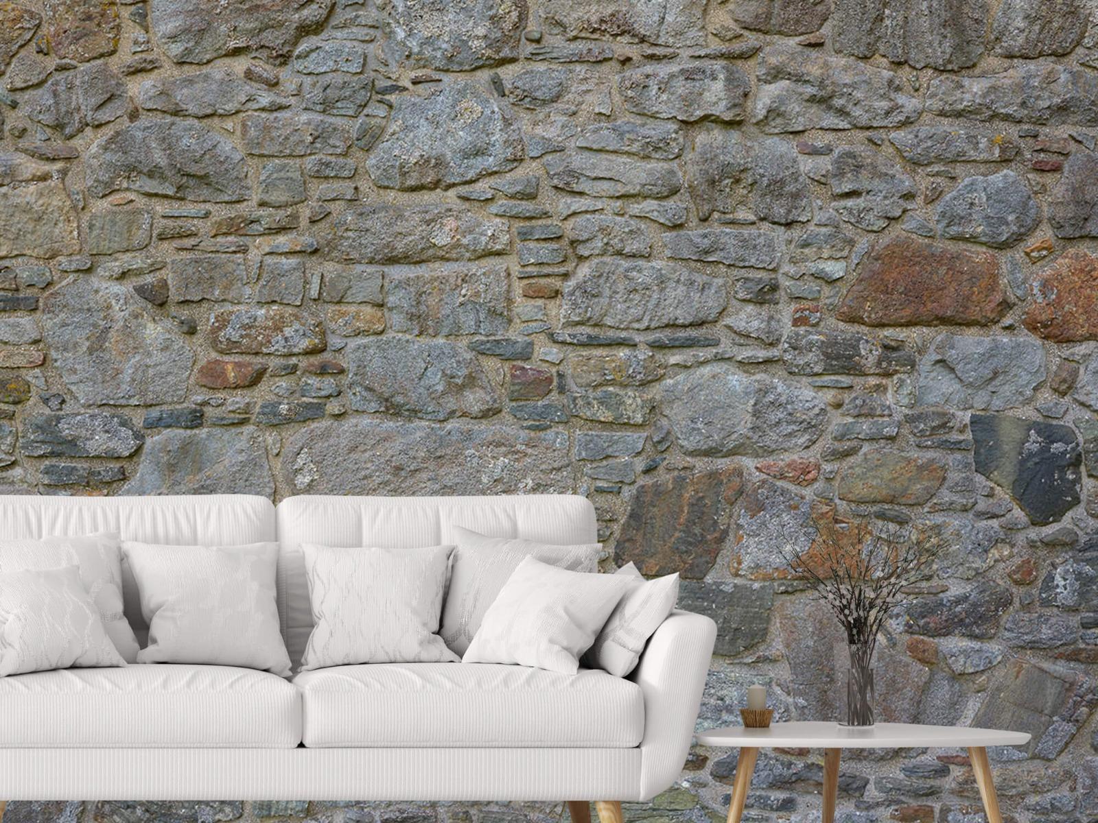 Papier peint en pierre - Mur de pierre médiéval - Chambre à coucher 3