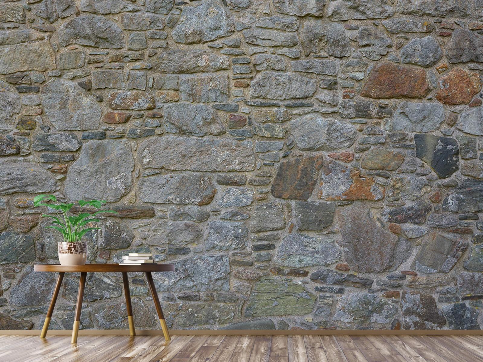 Papier peint en pierre - Mur de pierre médiéval - Chambre à coucher 4