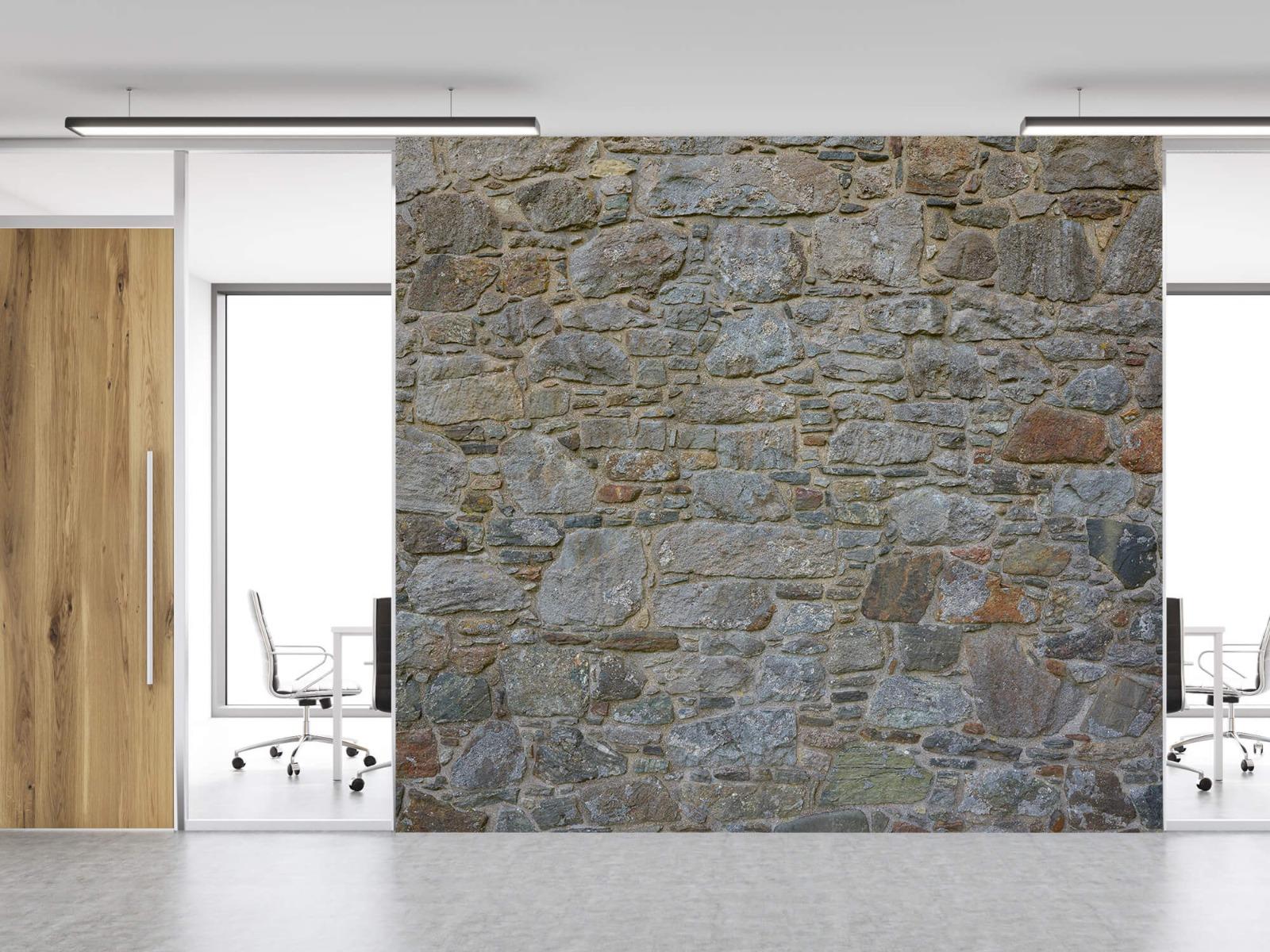 Papier peint en pierre - Mur de pierre médiéval - Chambre à coucher 12