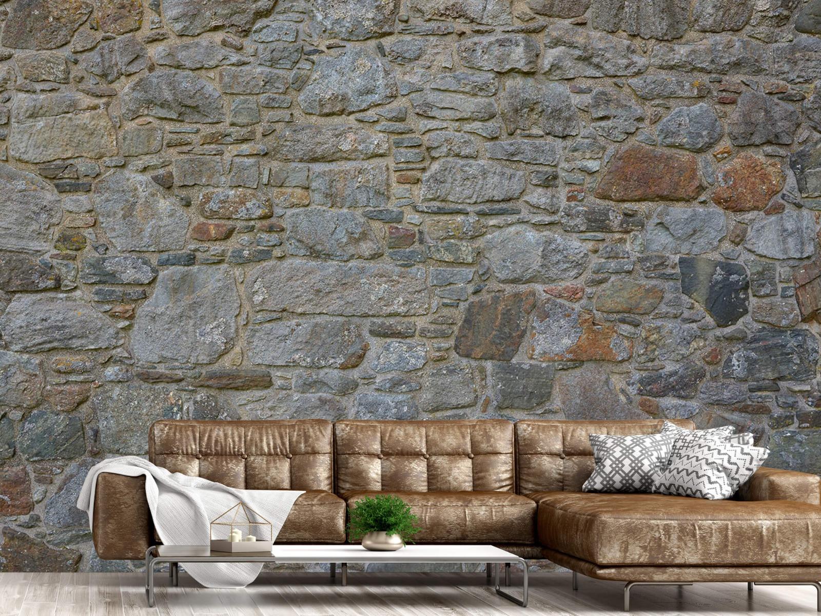 Papier peint en pierre - Mur de pierre médiéval - Chambre à coucher 15