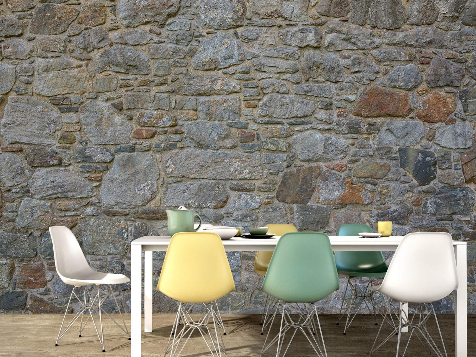 Papier peint en pierre - Mur de pierre médiéval - Chambre à coucher 16