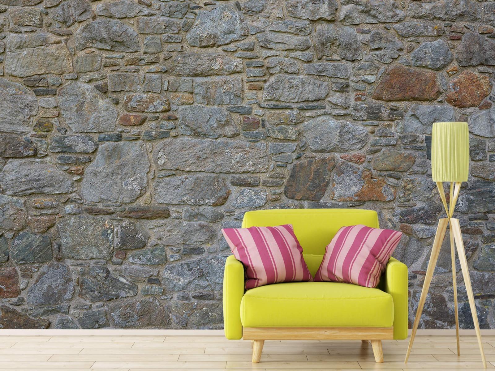 Papier peint en pierre - Mur de pierre médiéval - Chambre à coucher 18