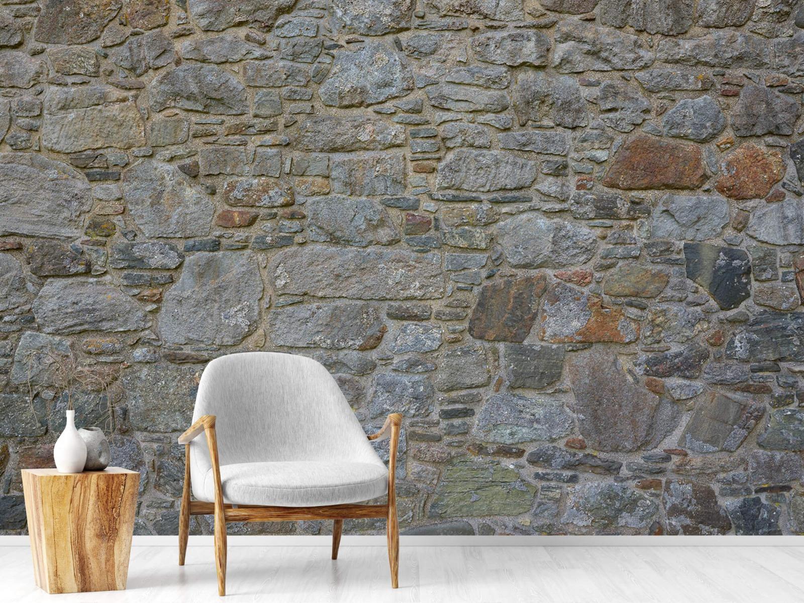 Papier peint en pierre - Mur de pierre médiéval - Chambre à coucher 19