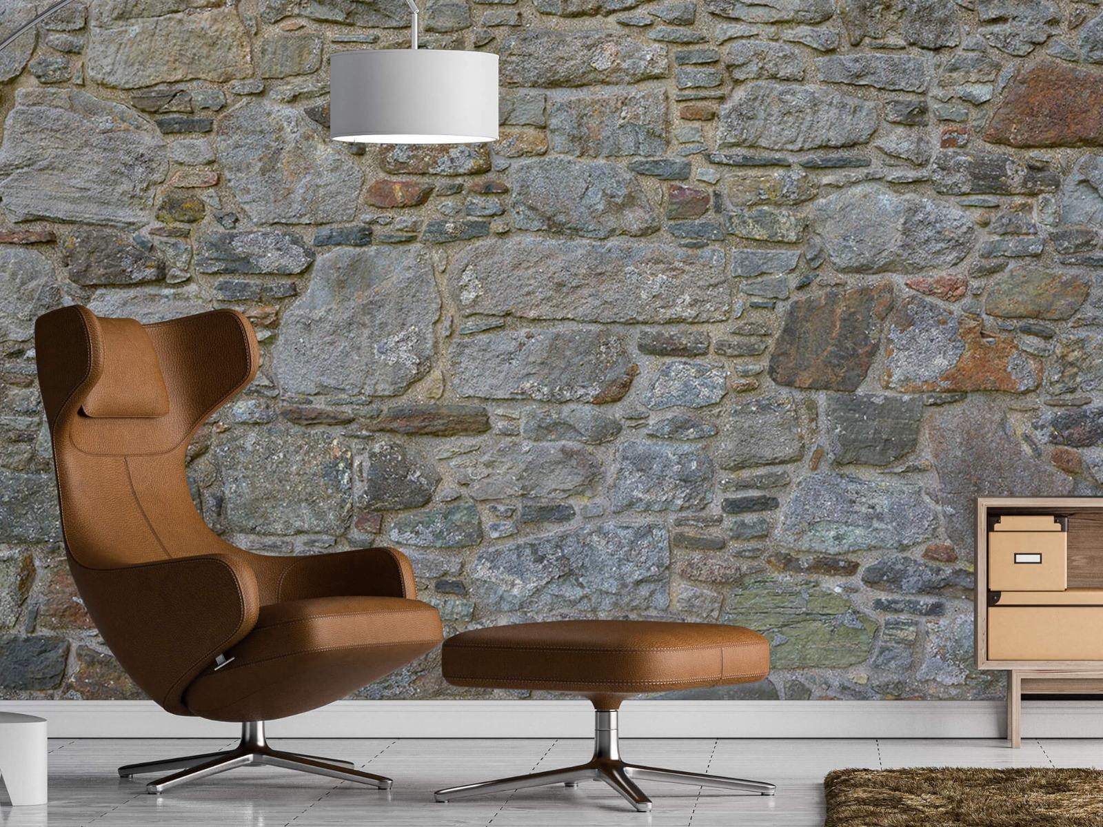 Papier peint en pierre - Mur de pierre médiéval - Chambre à coucher 20