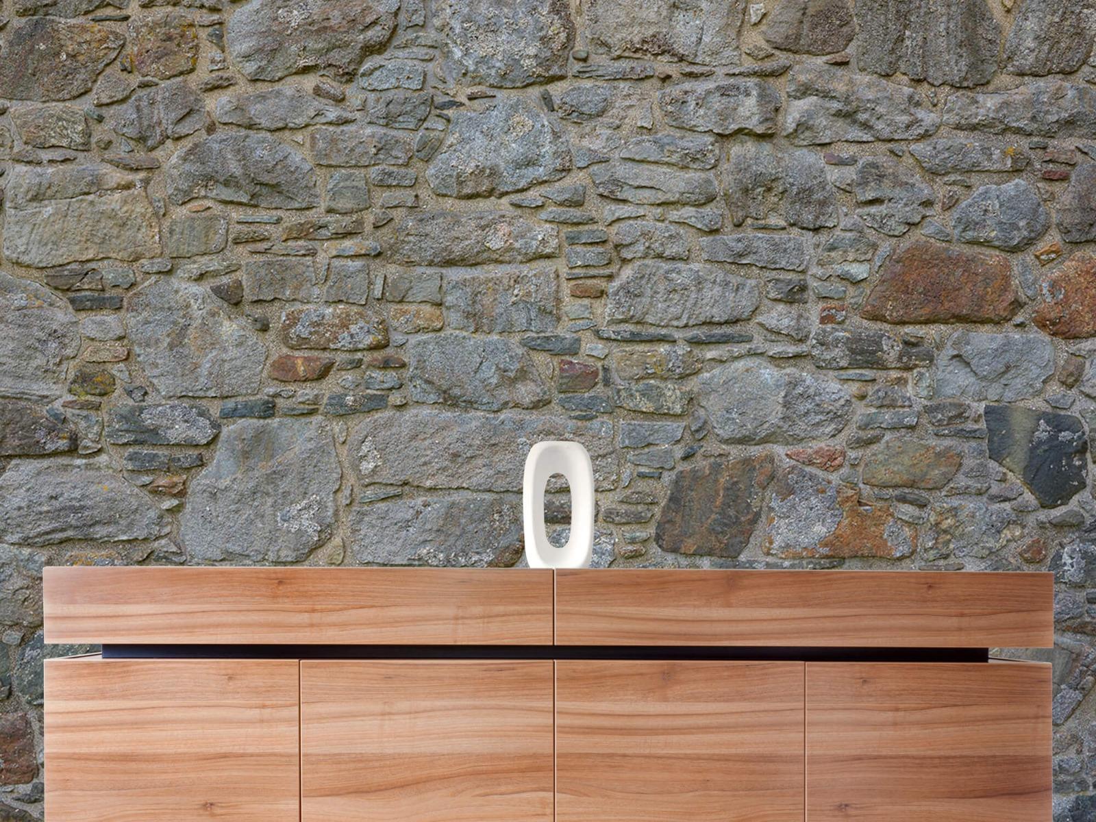 Papier peint en pierre - Mur de pierre médiéval - Chambre à coucher 21