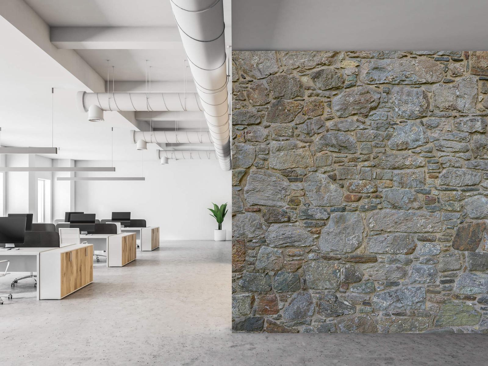 Papier peint en pierre - Mur de pierre médiéval - Chambre à coucher 22