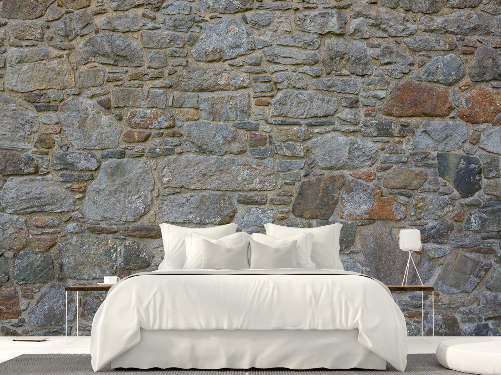 Papier peint en pierre - Mur de pierre médiéval - Chambre à coucher 23
