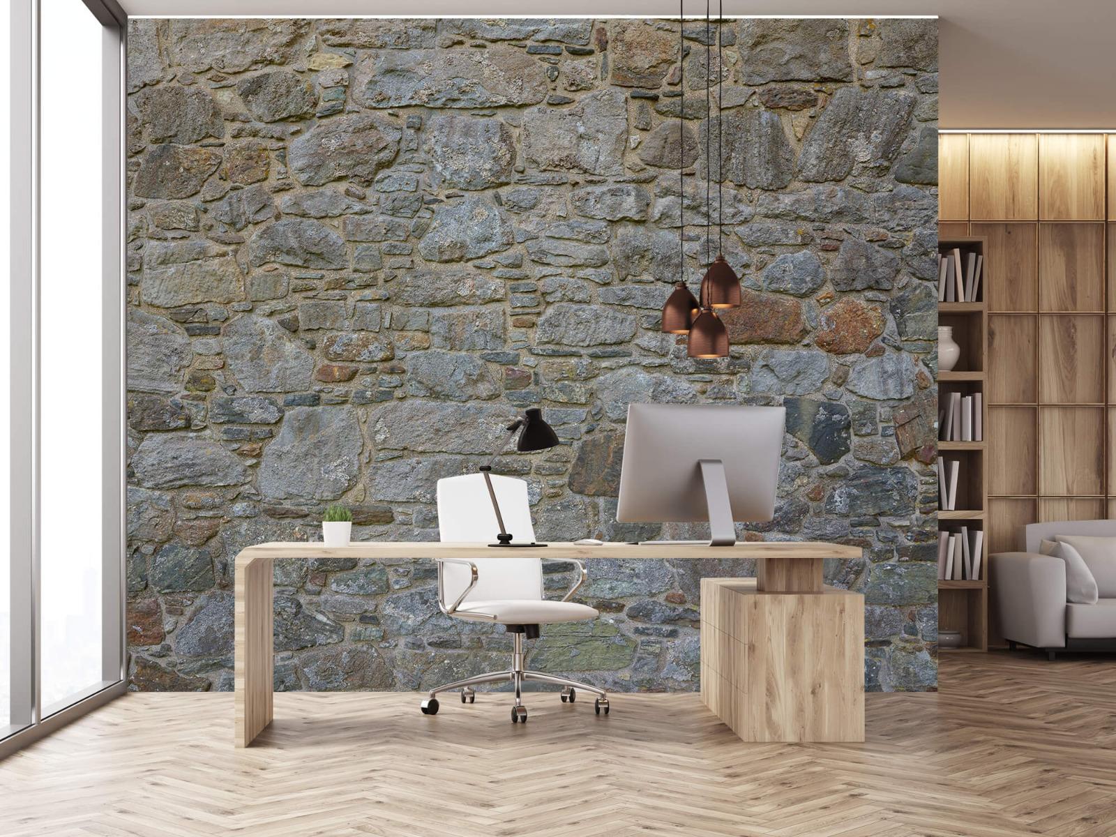 Papier peint en pierre - Mur de pierre médiéval - Chambre à coucher 24