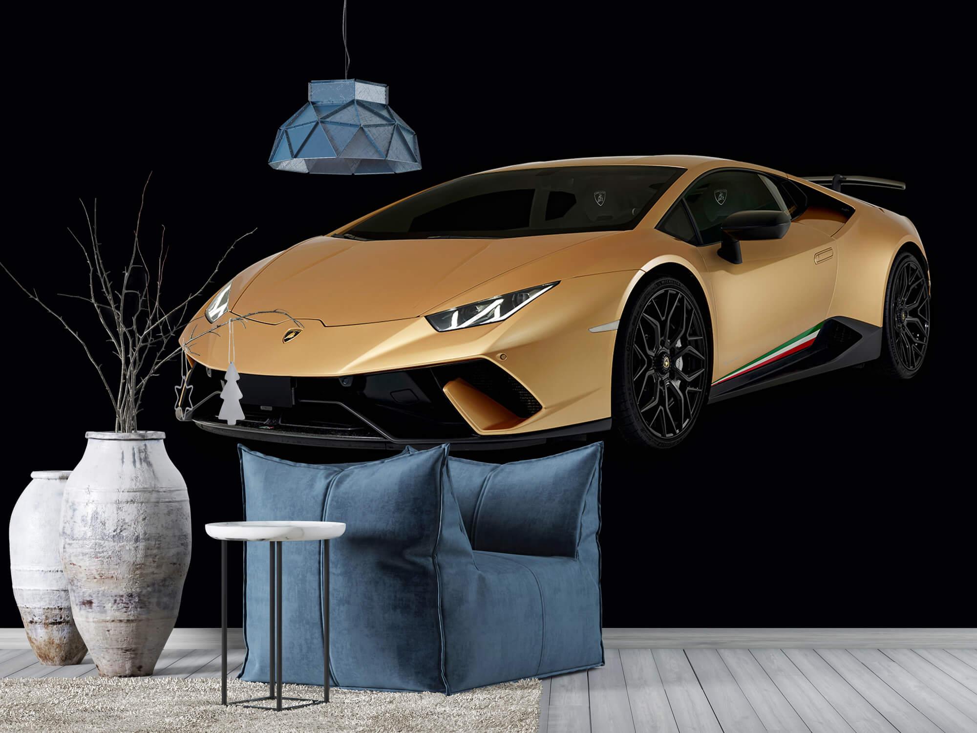 Wallpaper Lamborghini Huracán - Avant droit, noir 10
