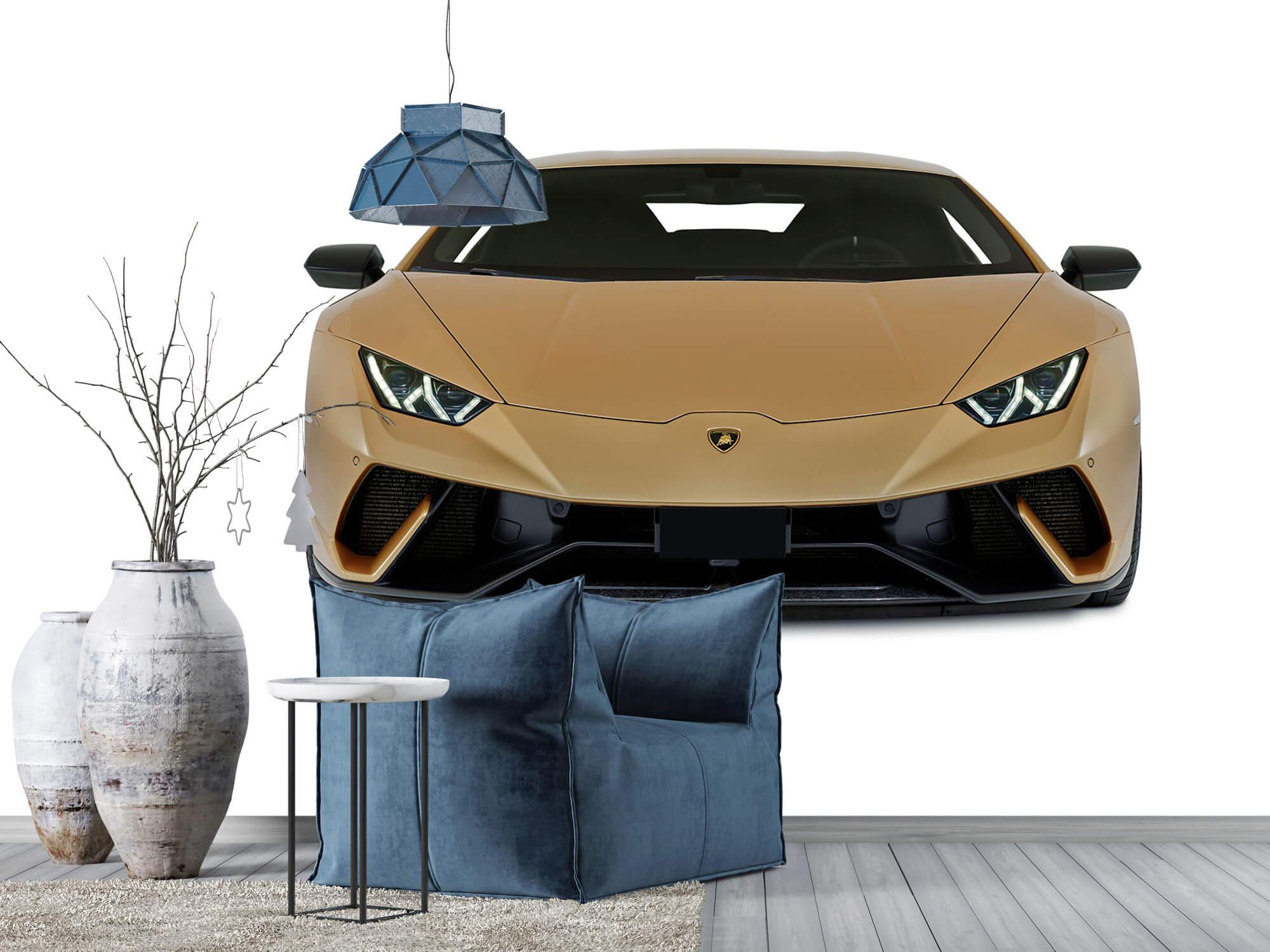 Wallpaper Lamborghini Huracán - Avant, blanc 5