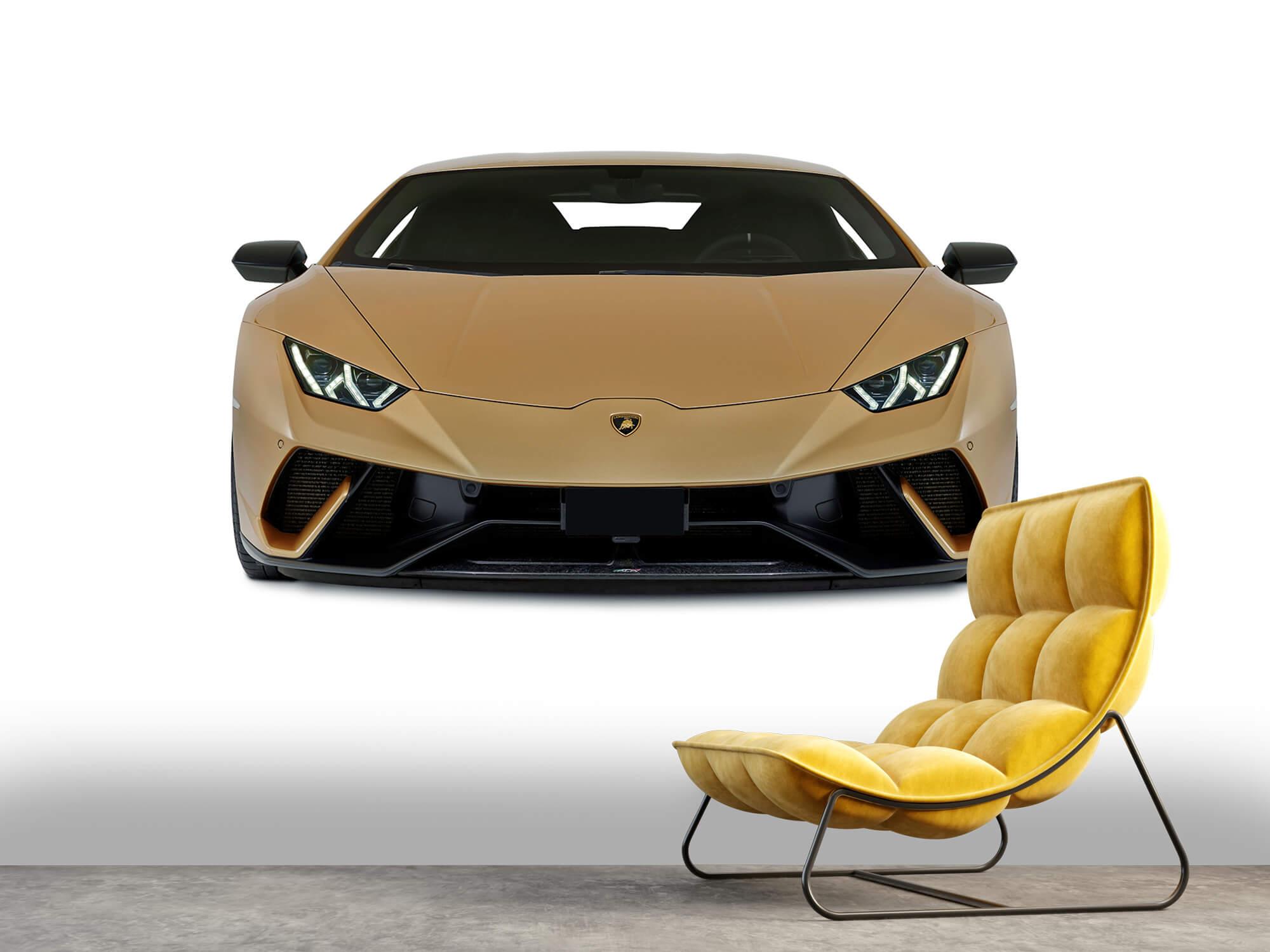 Wallpaper Lamborghini Huracán - Avant, blanc 6