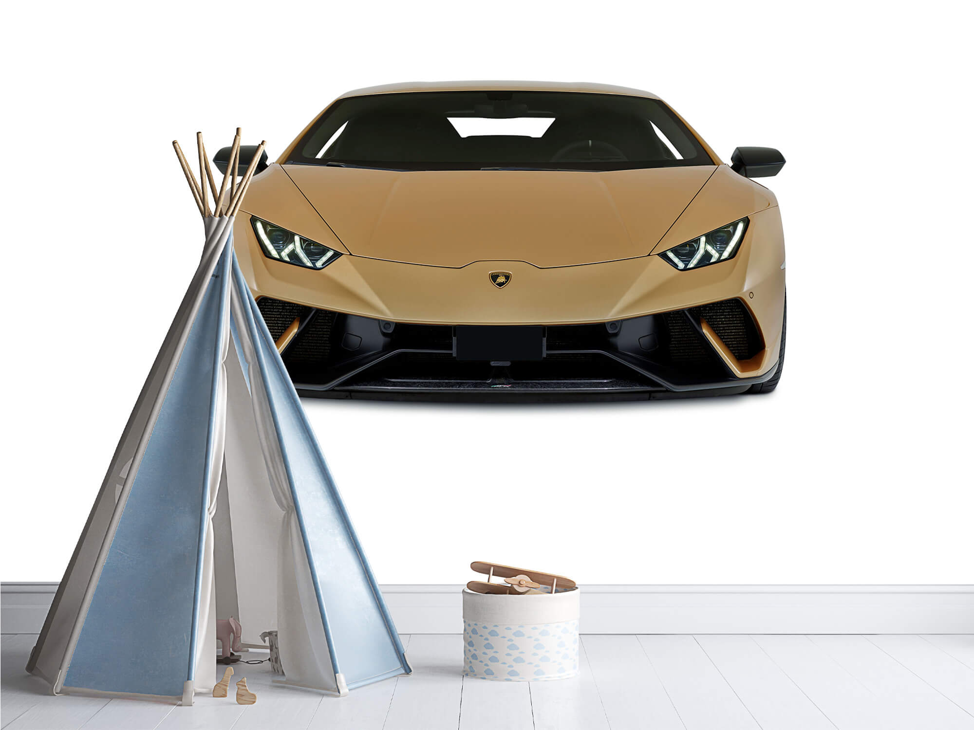 Wallpaper Lamborghini Huracán - Avant, blanc 9