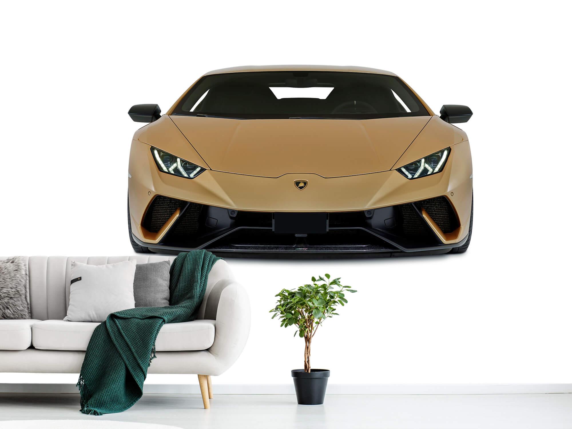 Wallpaper Lamborghini Huracán - Avant, blanc 10