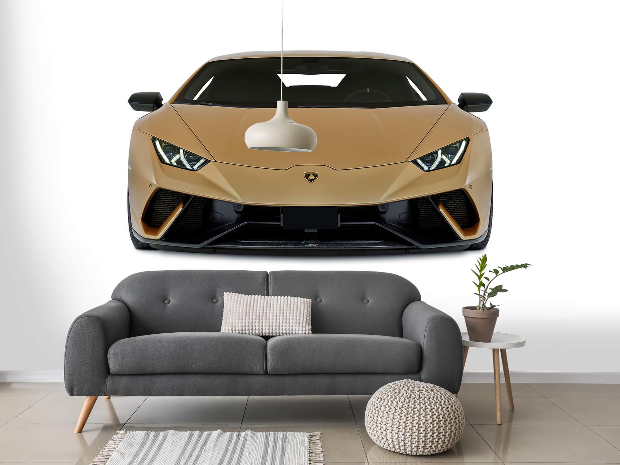 Wallpaper Lamborghini Huracán - Avant, blanc 14