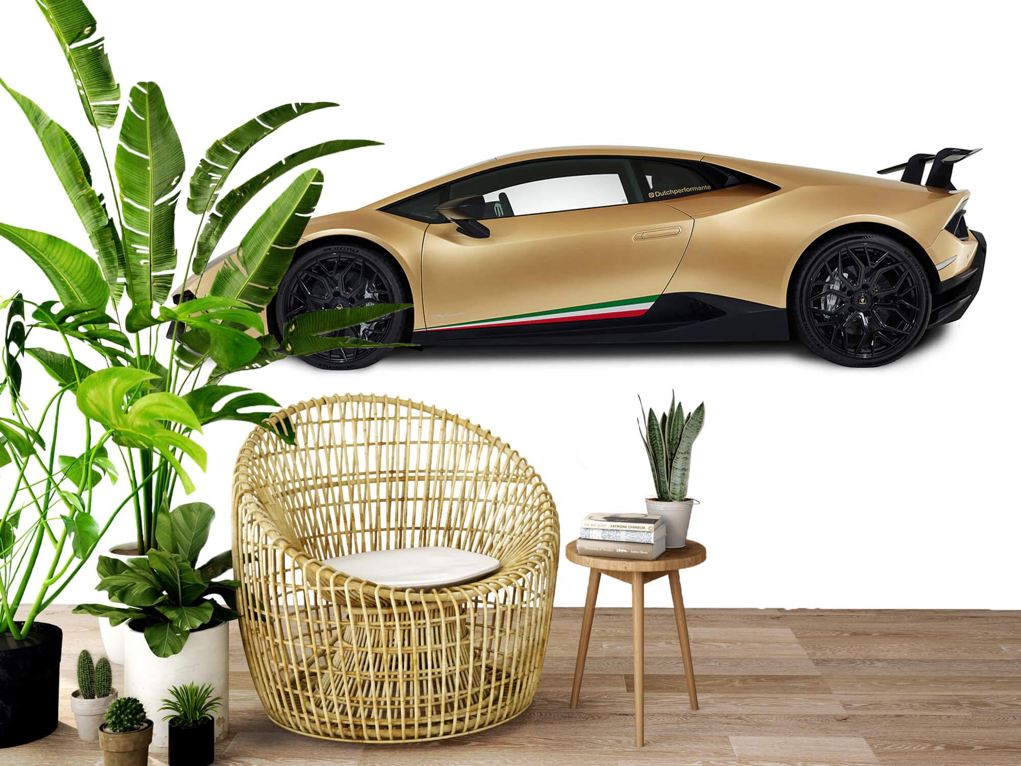 Wallpaper Lamborghini Huracán - Côté, blanc 9