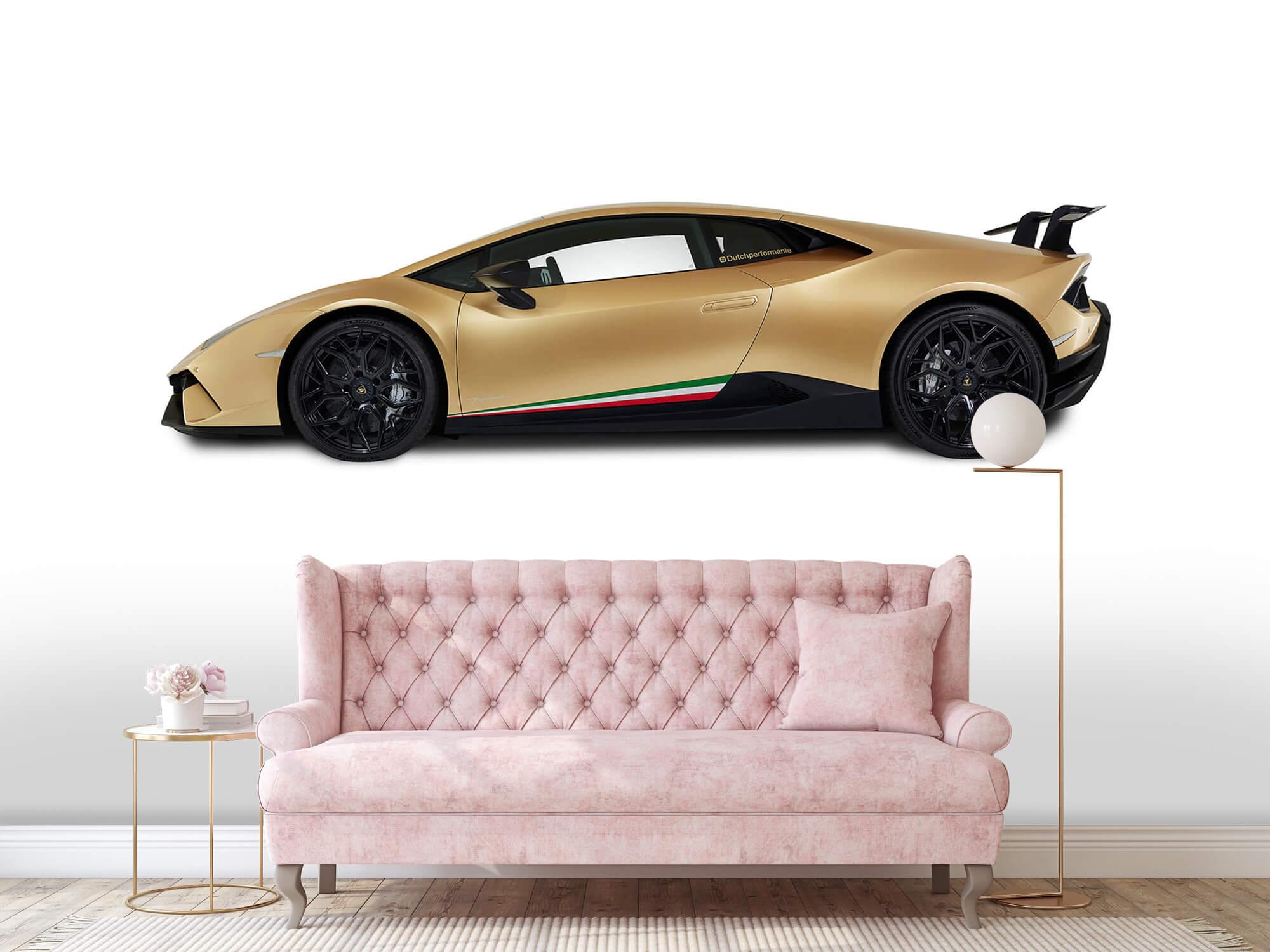 Wallpaper Lamborghini Huracán - Côté, blanc 13