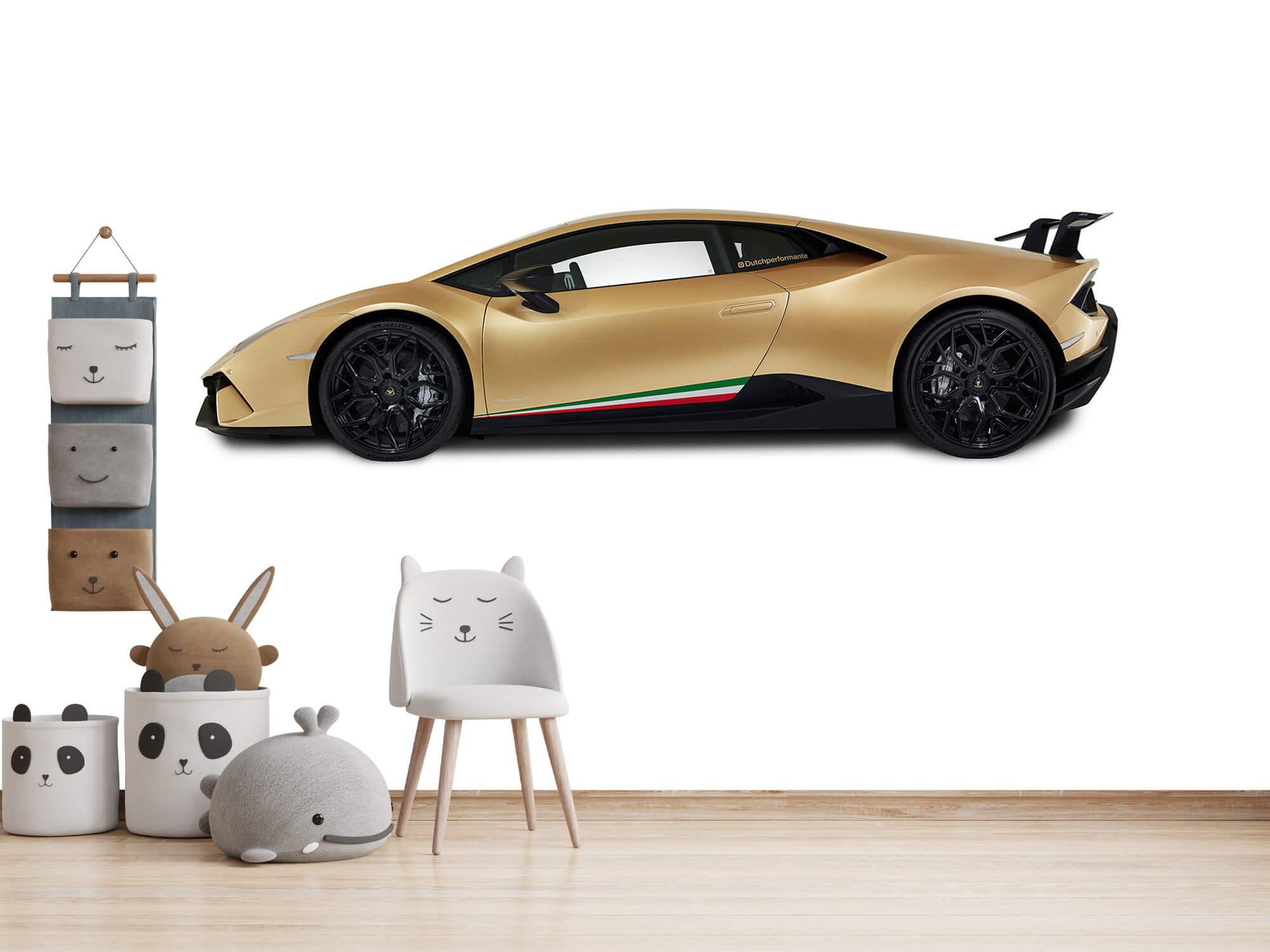 Wallpaper Lamborghini Huracán - Côté, blanc 14