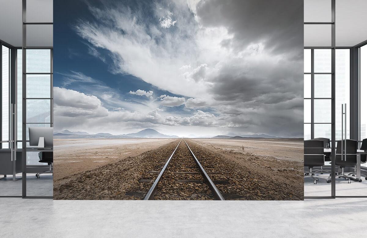 Landscape The long road 3