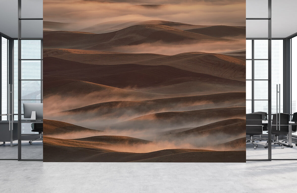 Landscape Early Spring Morning at Palouse 9