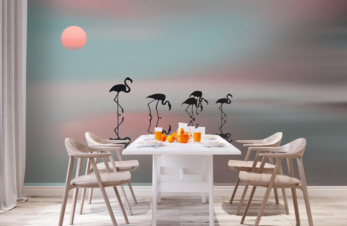 Effecten Family flamingos 4