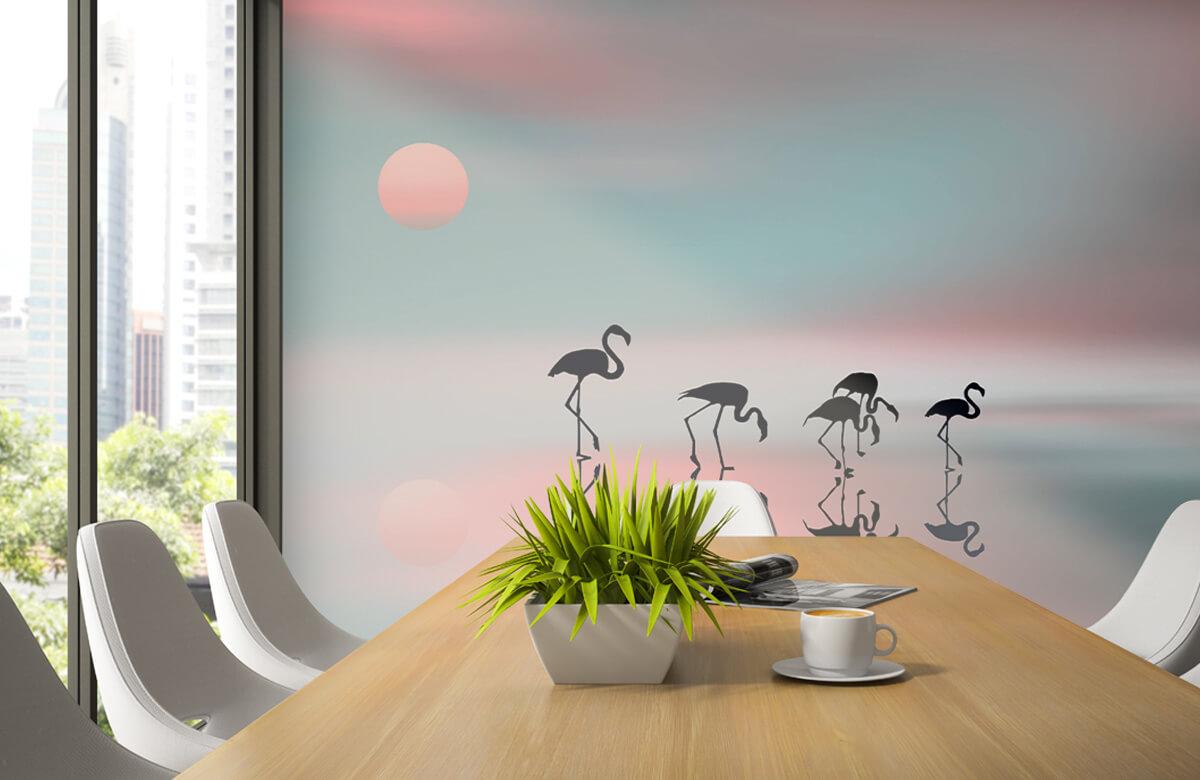 Effecten Family flamingos 6