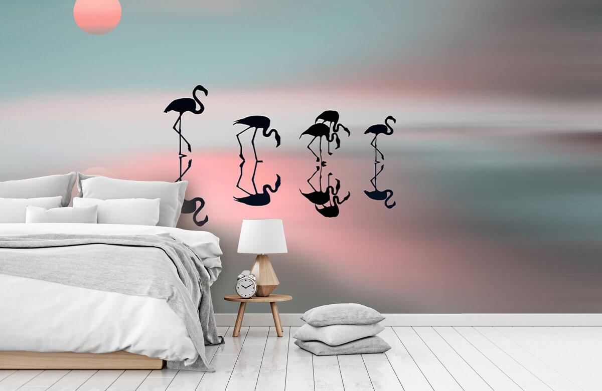 Effecten Family flamingos 5