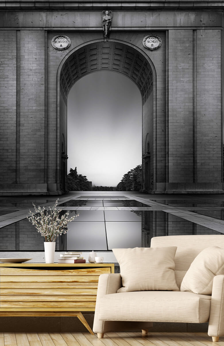 Architecture Arch of Moncloa 6