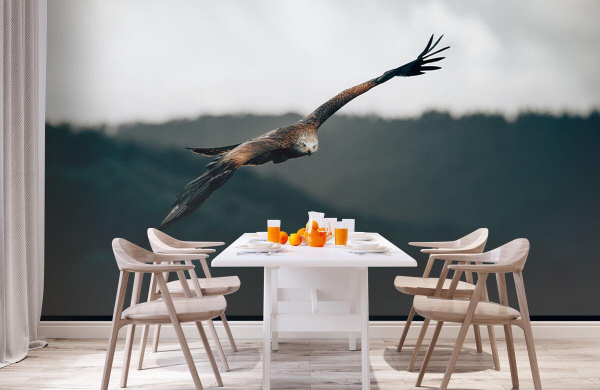 Wallpaper Cerf-volant rouge 3