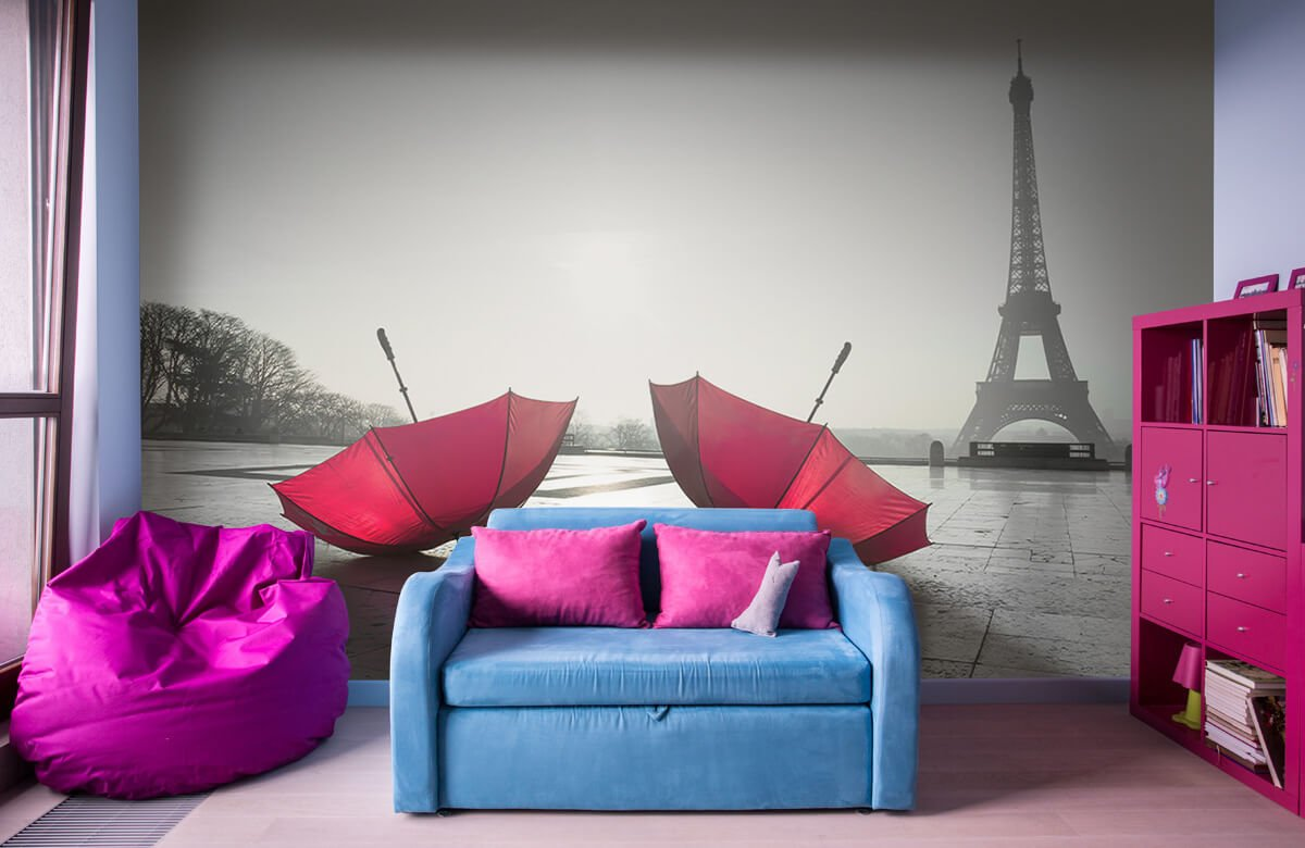 Parapluies rouges 5