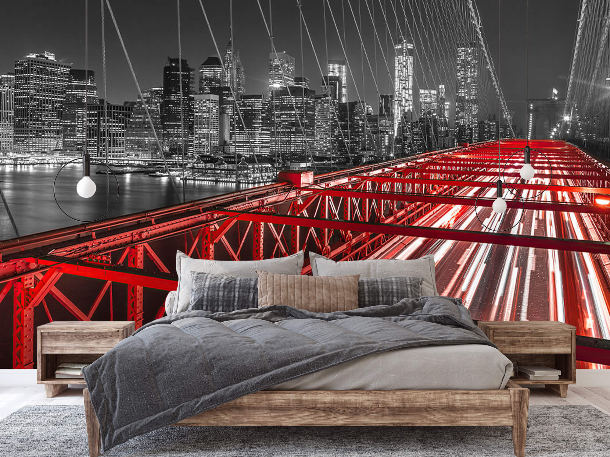Pont de Brooklyn rouge 3