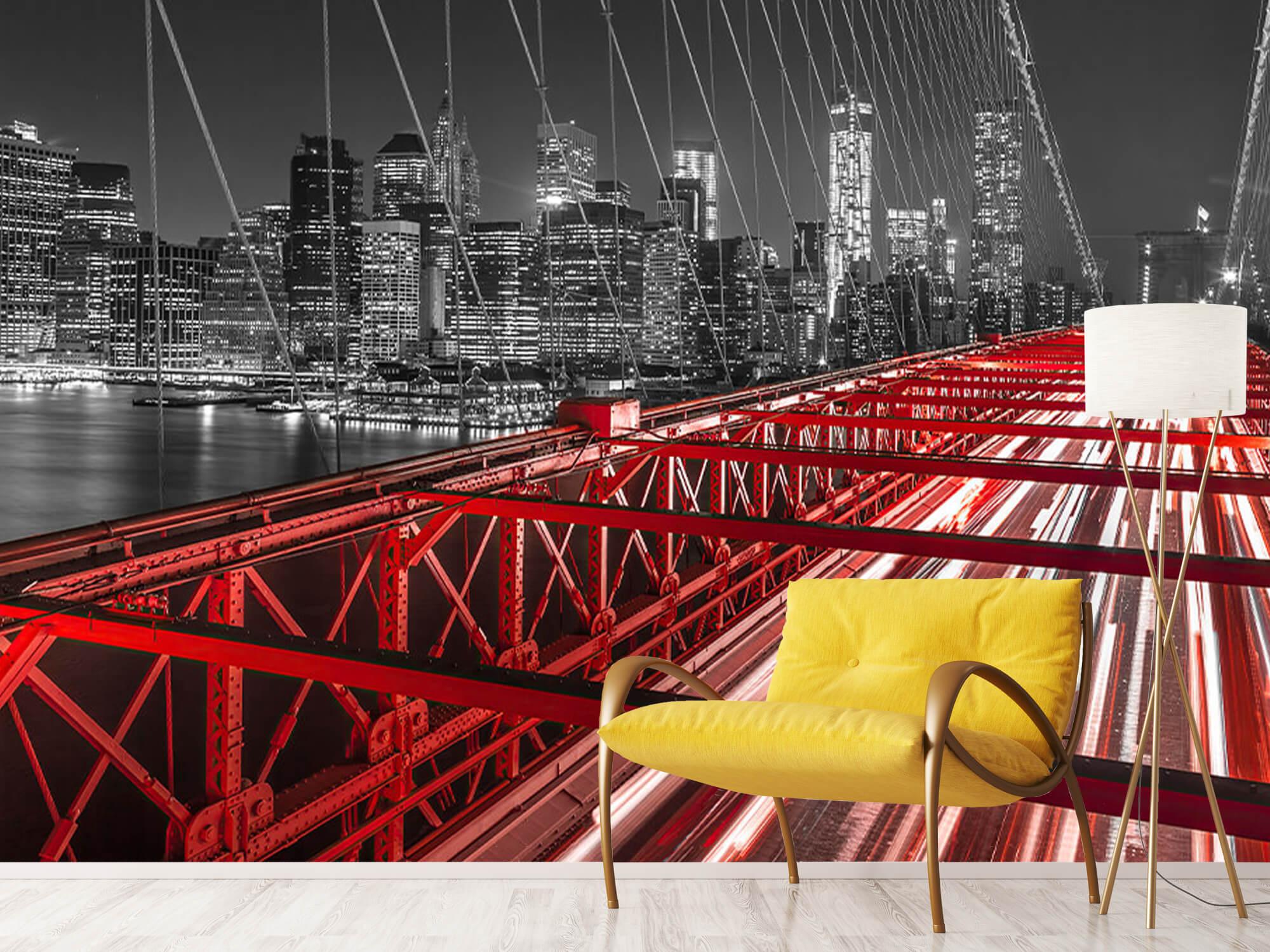 Pont de Brooklyn rouge 2