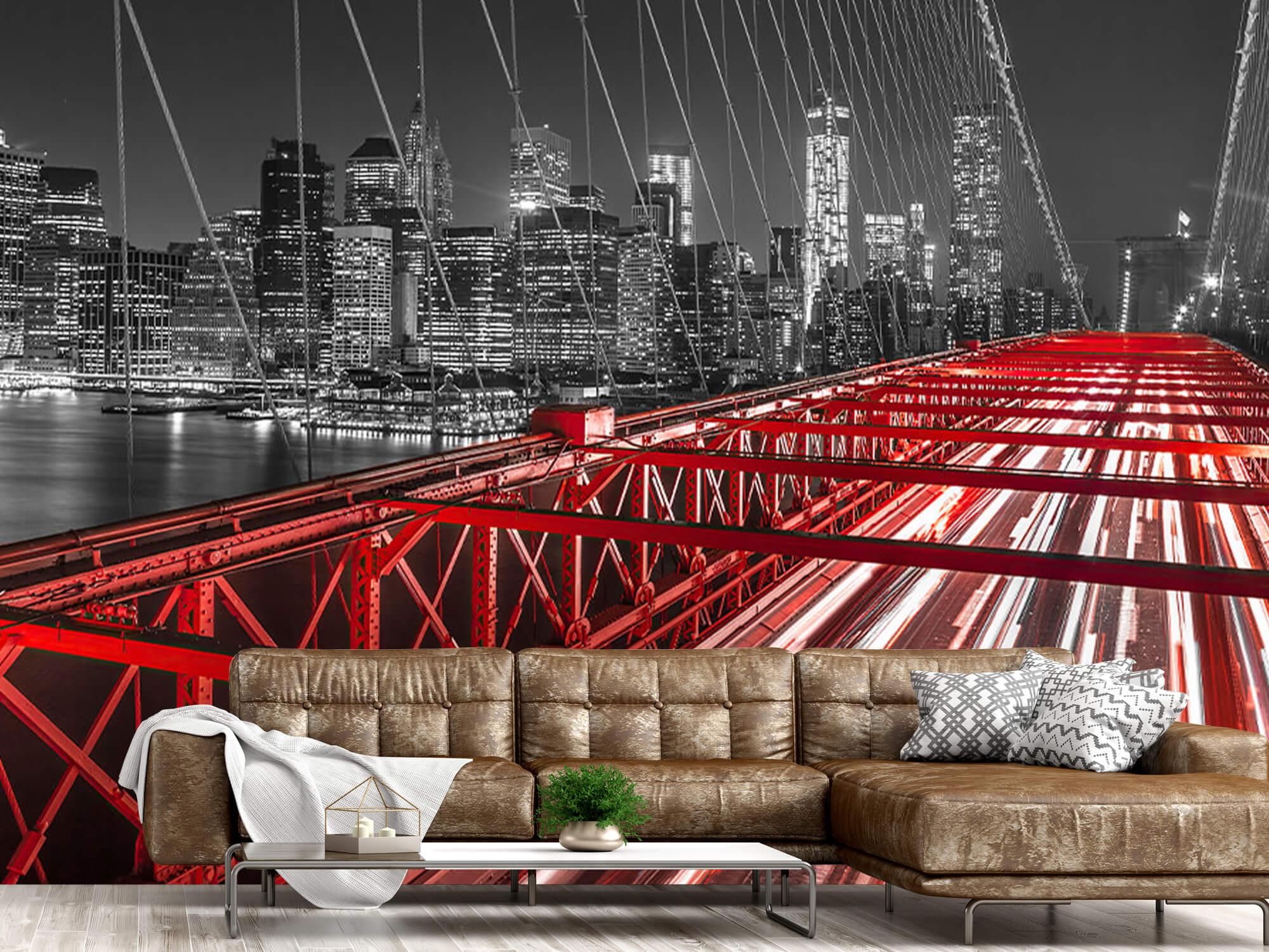 Pont de Brooklyn rouge 6
