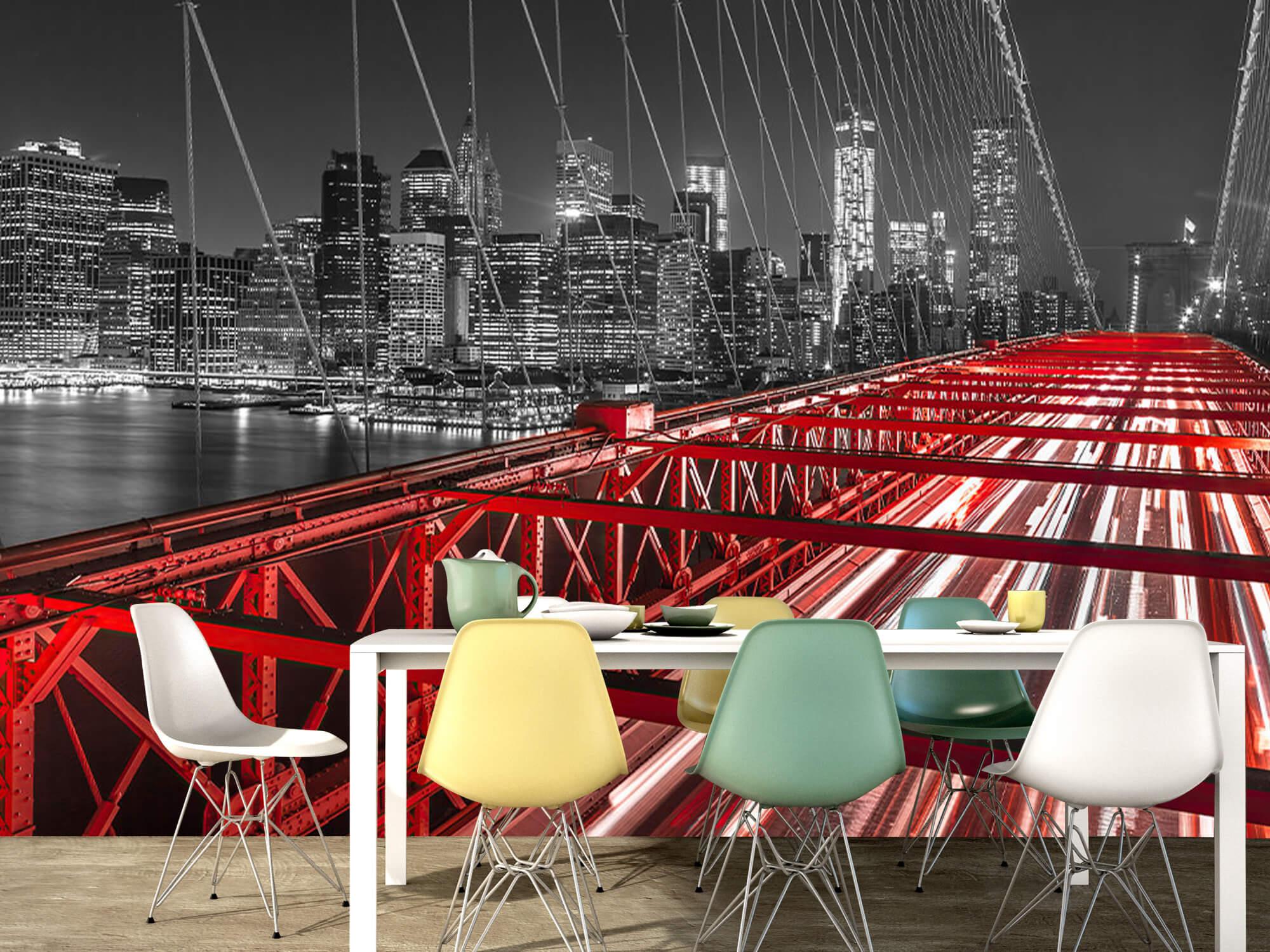 Pont de Brooklyn rouge 9