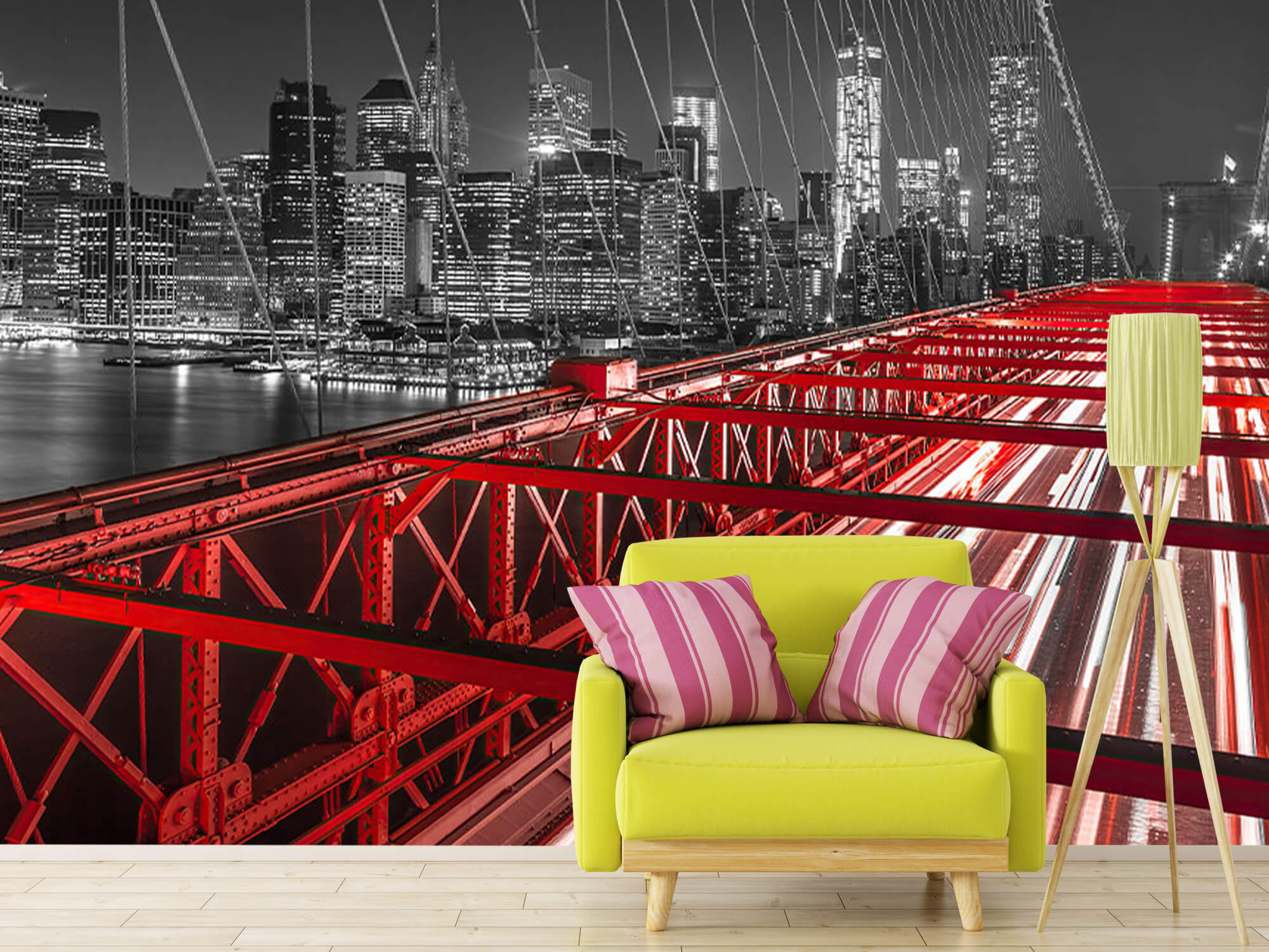 Pont de Brooklyn rouge 13