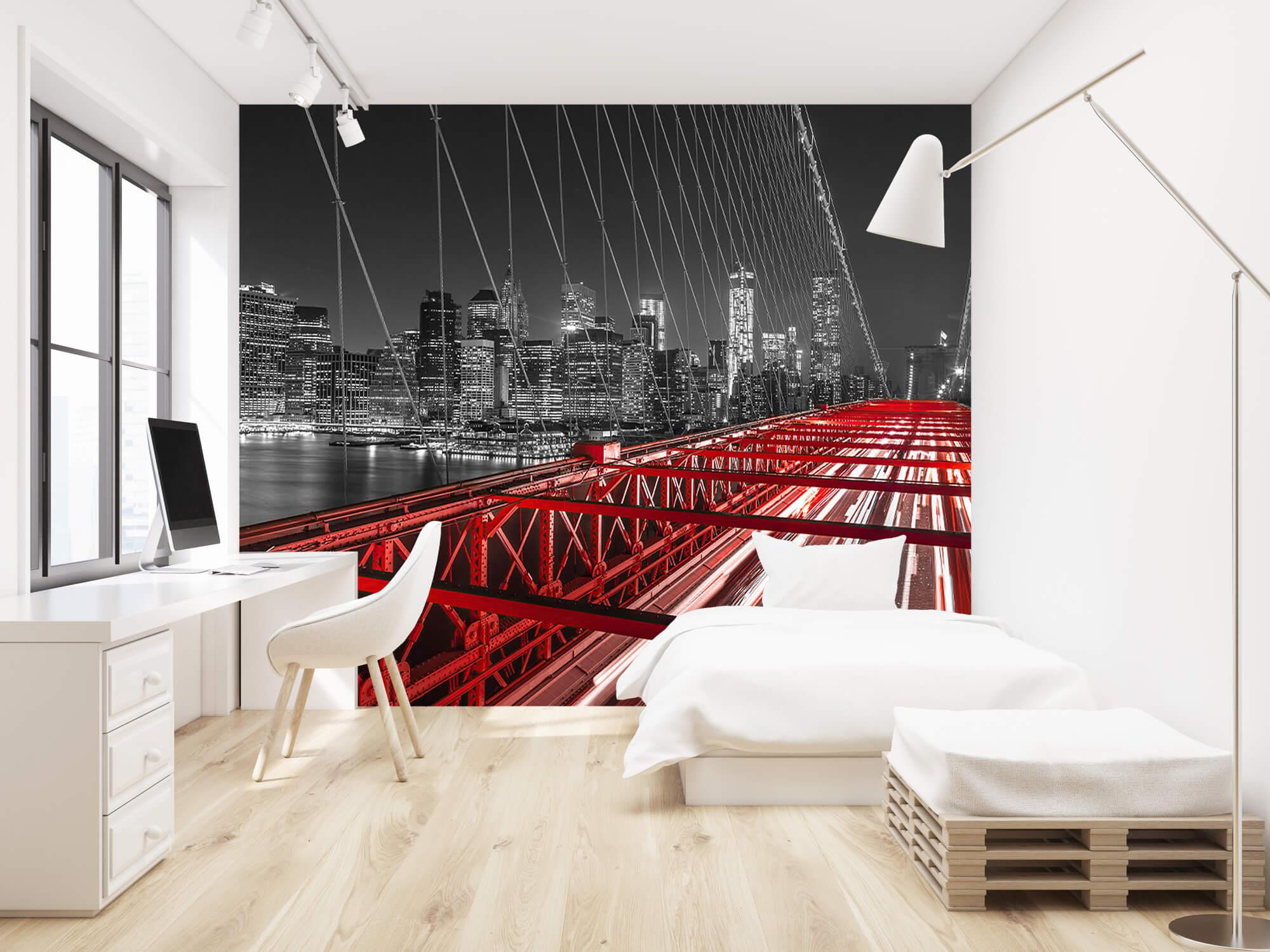 Pont de Brooklyn rouge 1