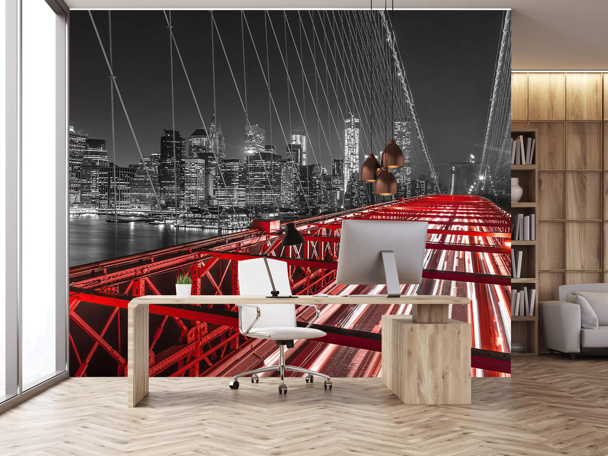 Pont de Brooklyn rouge 16