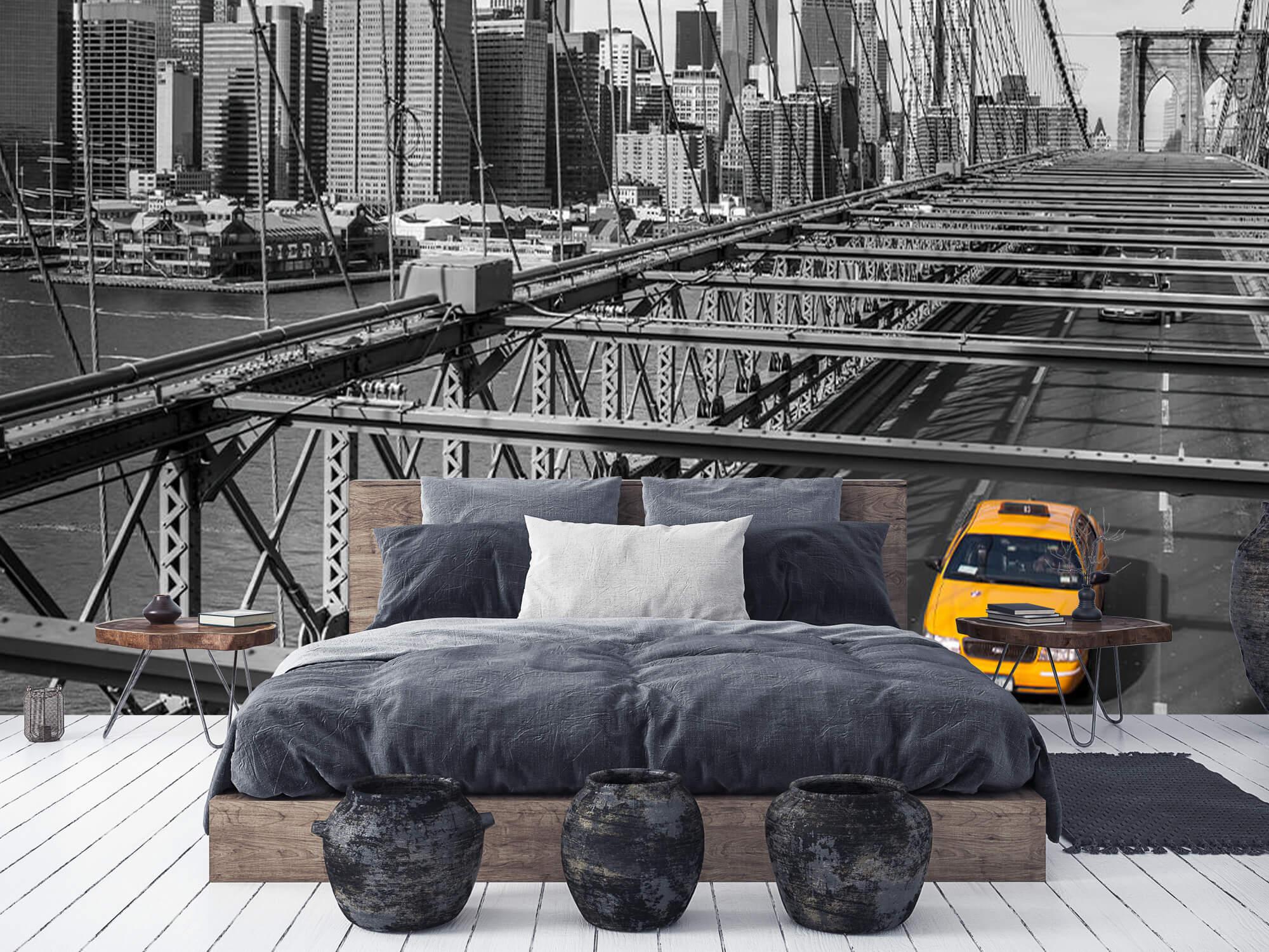 Un taxi sur le pont de Brooklyn 9