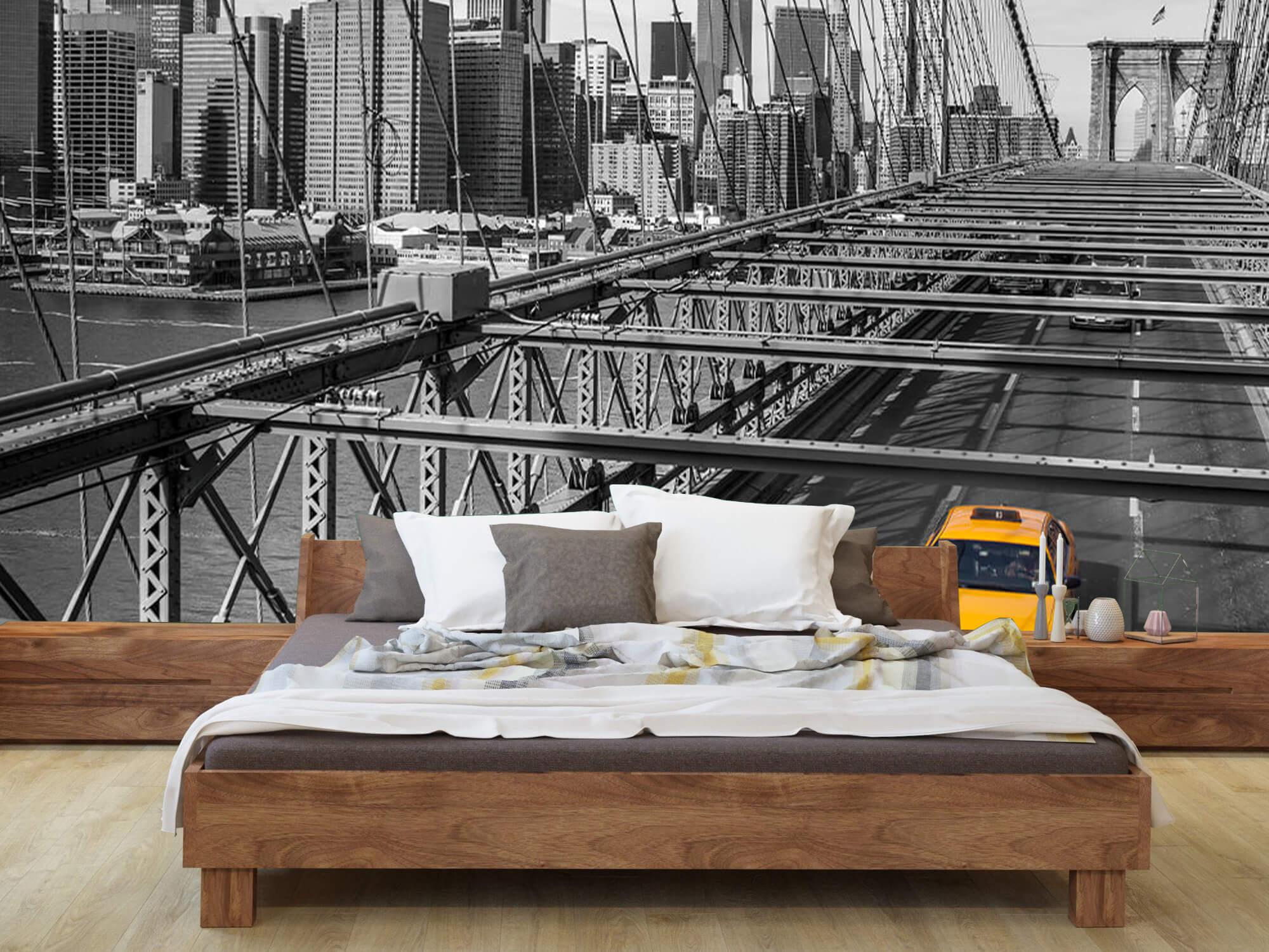 Un taxi sur le pont de Brooklyn 3