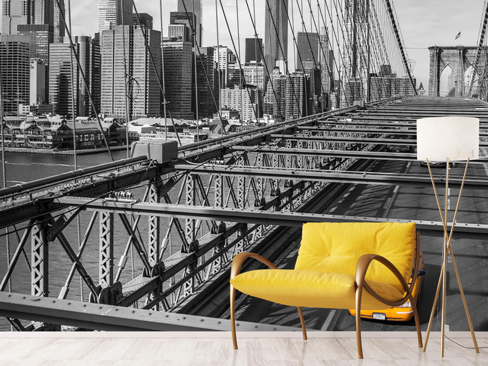 Un taxi sur le pont de Brooklyn 16