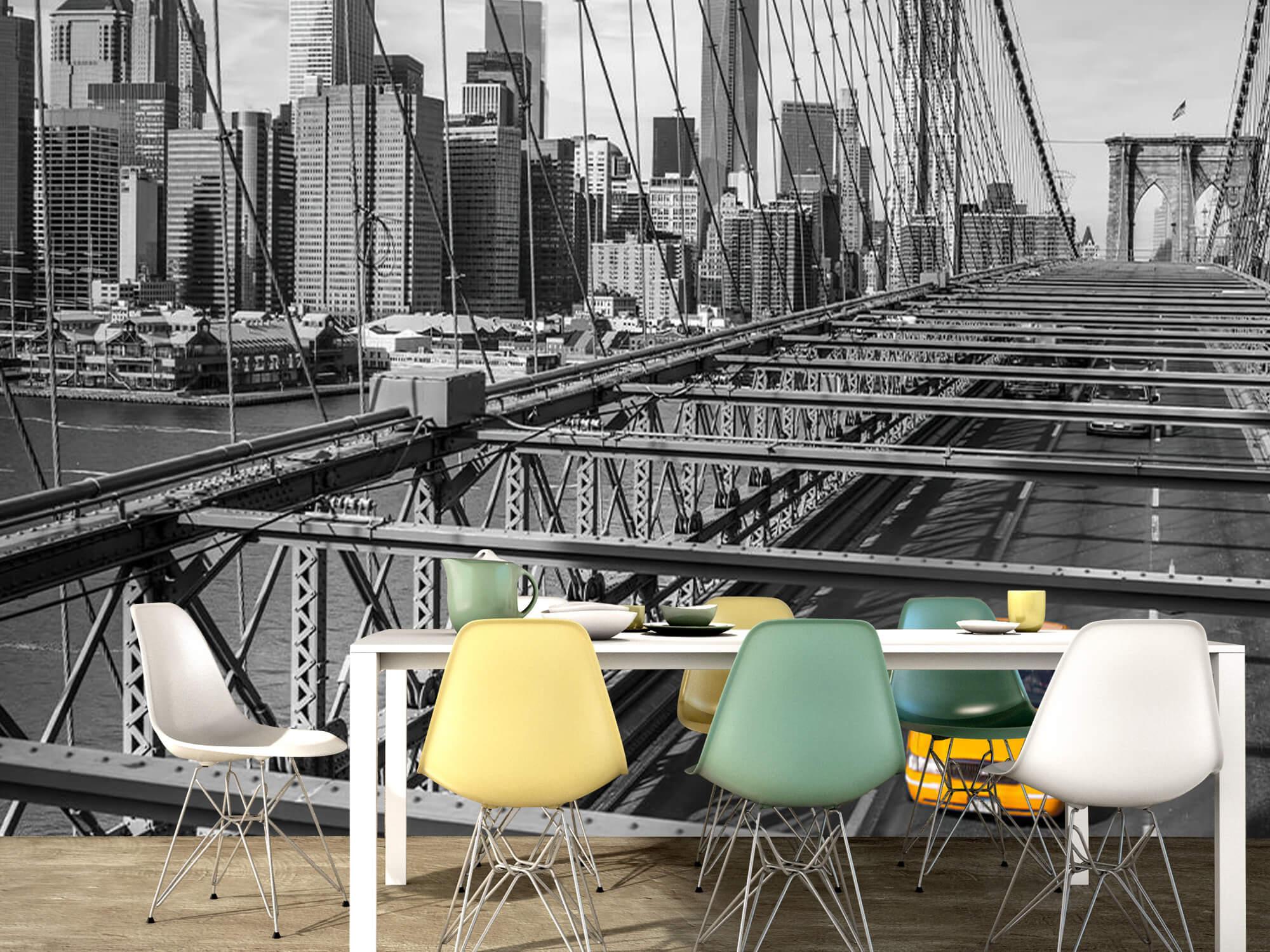 Un taxi sur le pont de Brooklyn 14