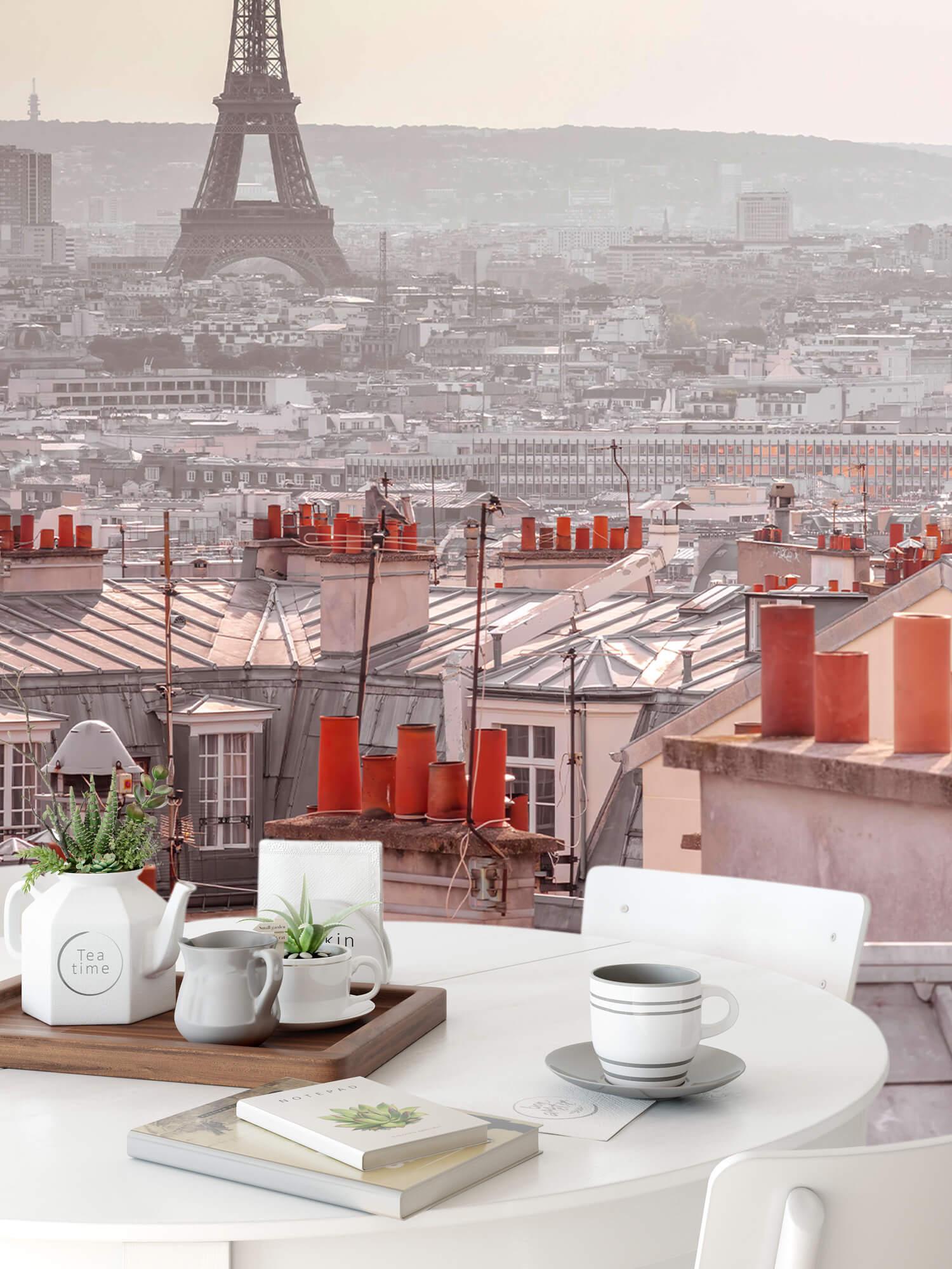 La Tour Eiffel depuis Montmartre 4